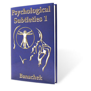 mentalism books - psychological subleties vol.1 by banachek