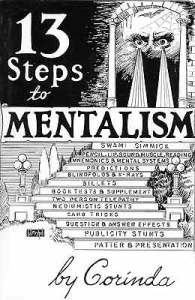 mentalism books - 13 steps to mentalism