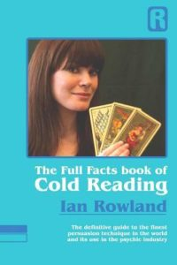 mentalism books - the full facts book of cold reading by Ian Rowland